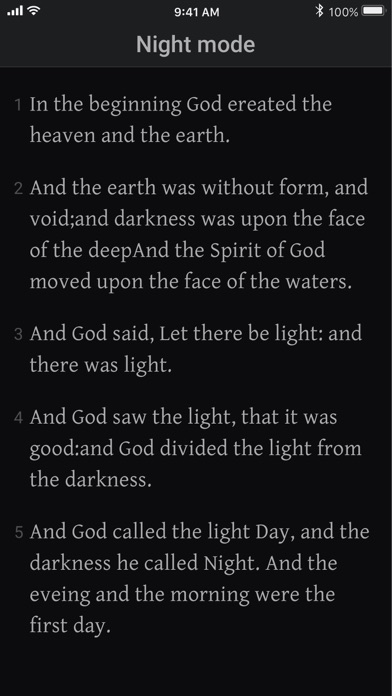 Bible KJV - Daily Bible Verse Screenshot