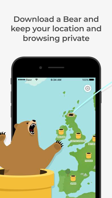 TunnelBear: Secure VPN & Wifi ScreenShot0