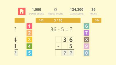 数学の基礎 Math Quiz - 自然数 加算、減算 1紹介画像5