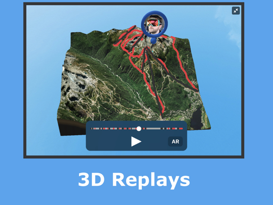 Slopes - Track your edge while skiing and snowboarding using your phone