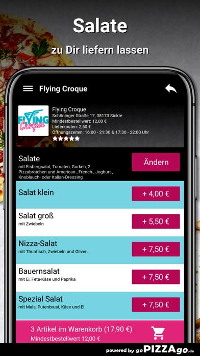Flying Croque Sickte screenshot 3