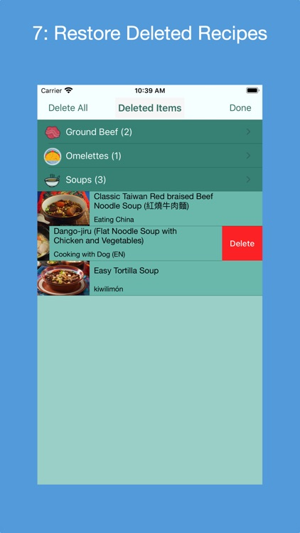 Recipe Collector screenshot-6