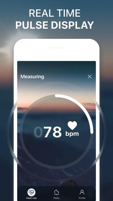Heart Rate. Relax for Heart. Screenshot