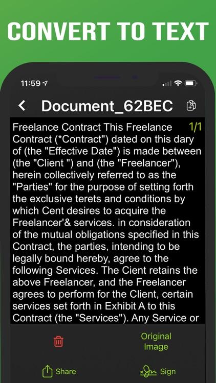 Camera Scanner - PDF screenshot-4