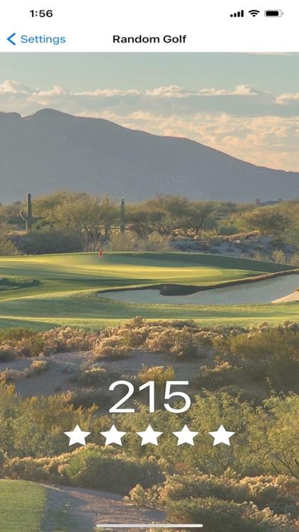 Random Golf Practice screenshot-4