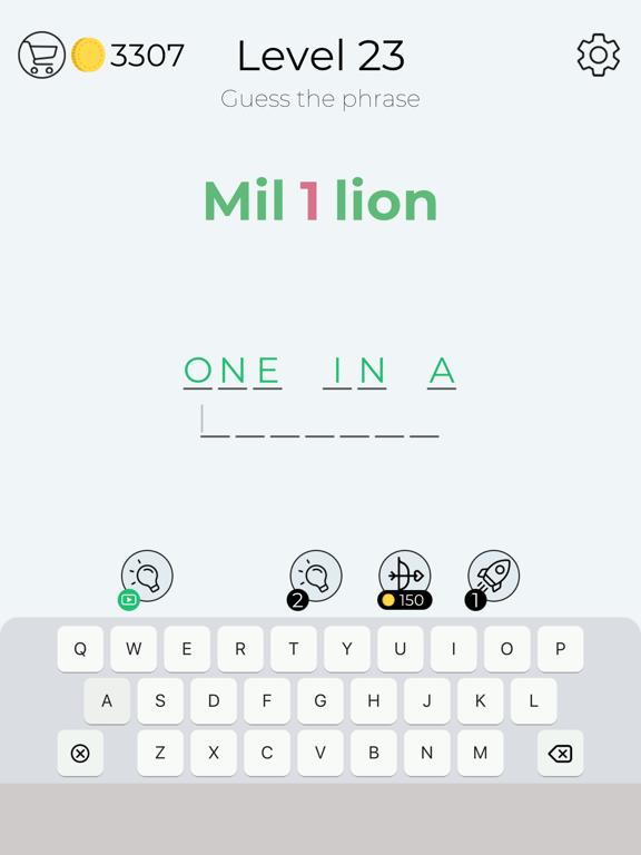 Dingbats - Word Games & Trivia screenshot 14