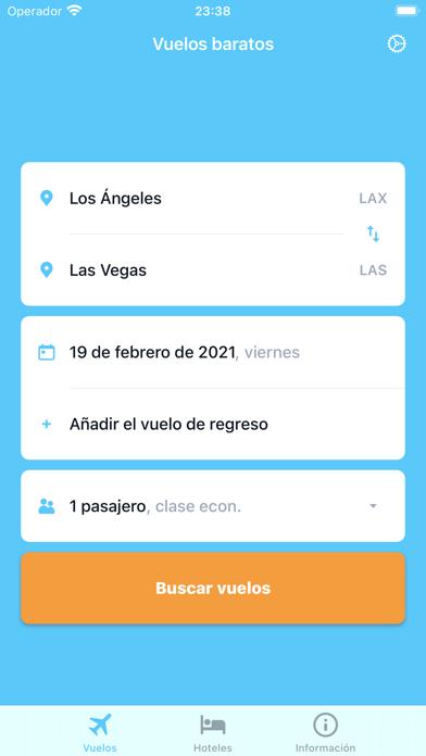 iTraveler - flights and hotelsCaptura de pantalla de1