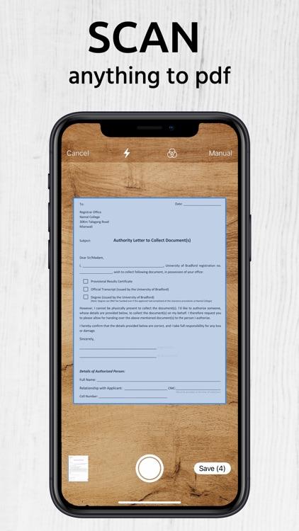 Scanner Me: Document Scan PDF
