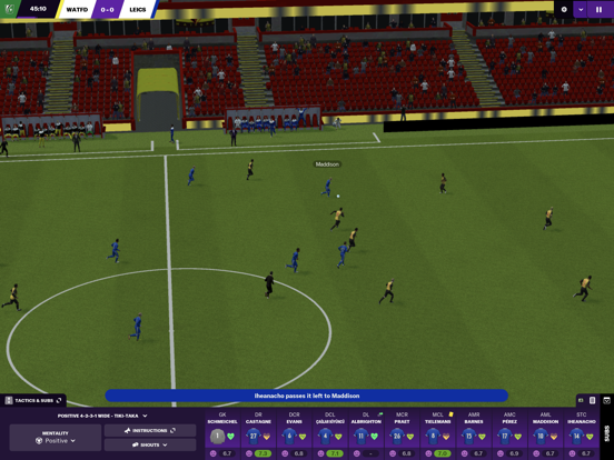 Football Manager 2021 Touch screenshot 8