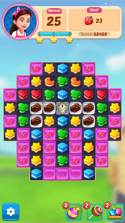 Cake Blast - Match 3 Puzzle screenshot-7