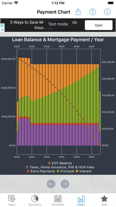 U.S. Mortgage CalculatorScreenshot of 4