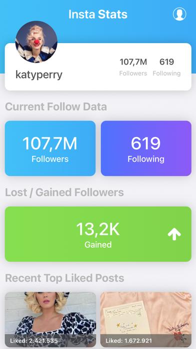 IgWidget - Followers Tracker + screenshot 3