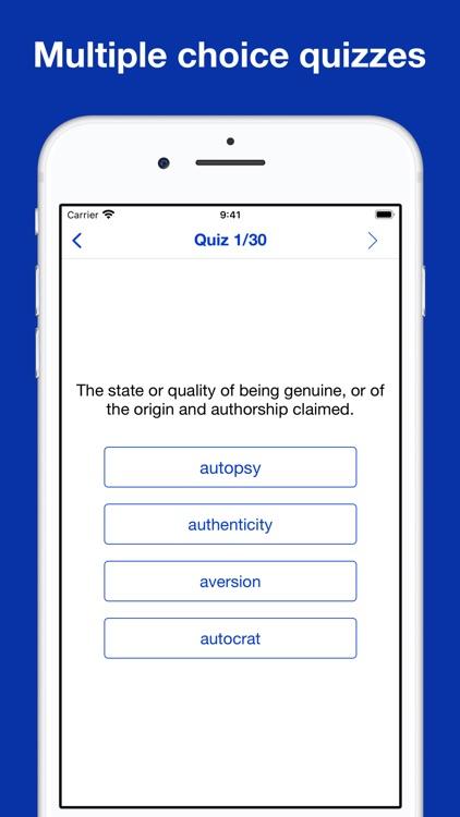 IELTS® wordlist flashcards screenshot-8