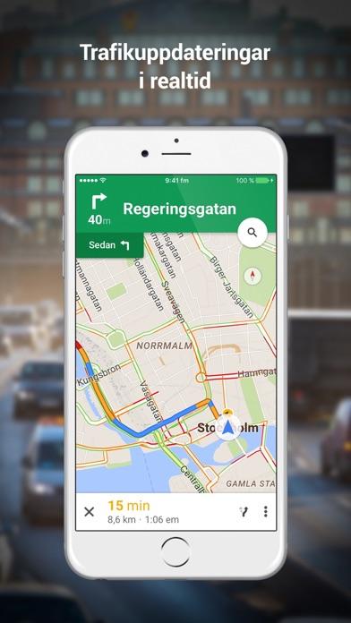 Google Maps på PC