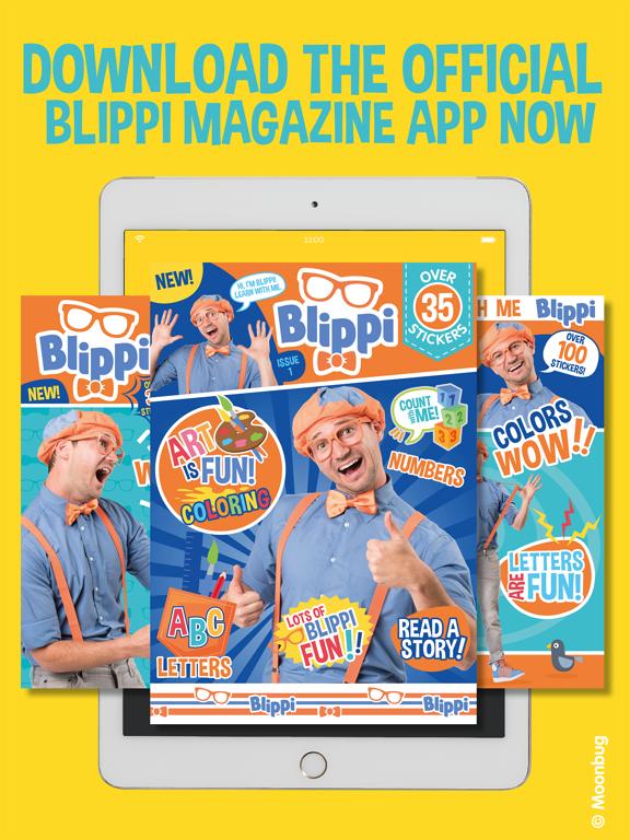 Ipad Screen Shot Blippi Official Magazine 5
