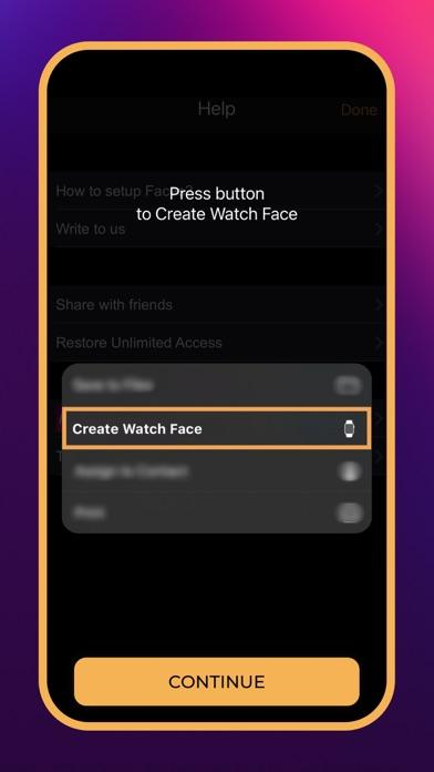 Watch Faces Gallery App Screenshot
