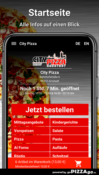 City Pizza Arnstadt screenshot 3