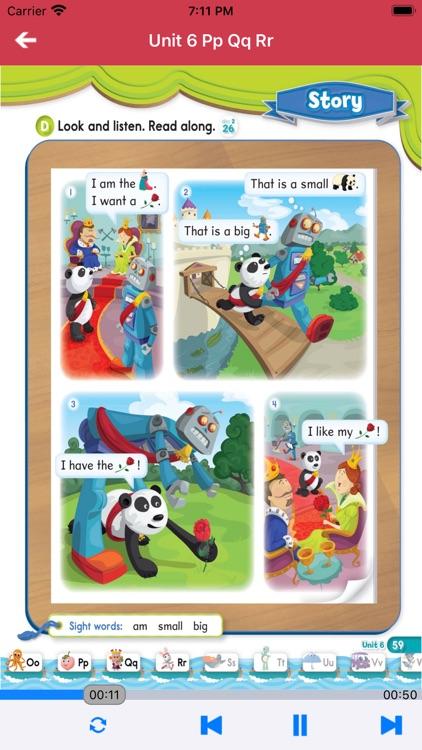牛津自然拼读世界第1级 -英语启蒙早教课程 screenshot-4