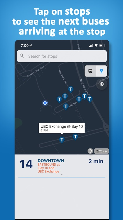 Vancouver Transit • Real-Time screenshot-3