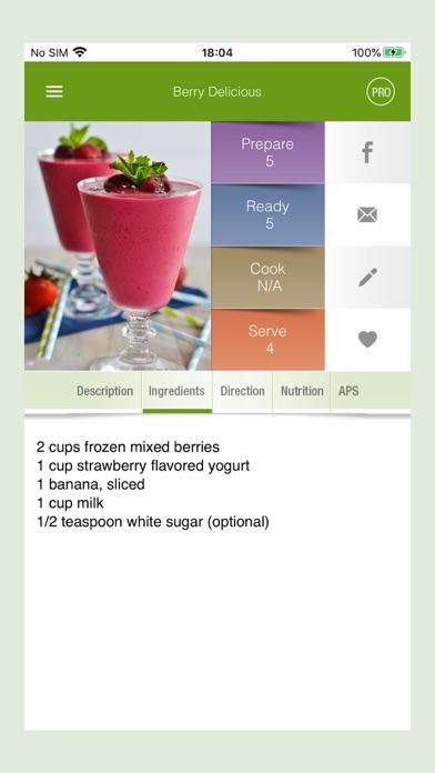 100+ Smoothies RecipesScreenshot of 3