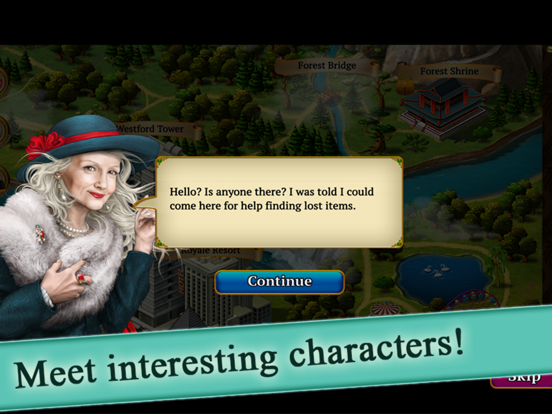 Hidden Objects Blackstone Mysteries - Solve Crimes screenshot