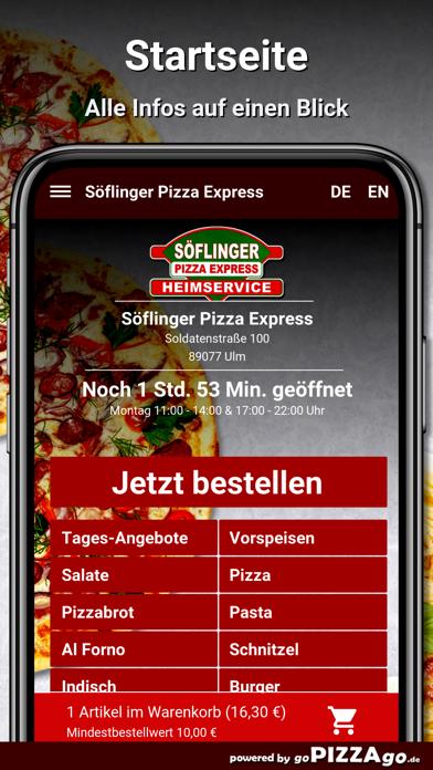 Söflinger Pizza Express Ulm screenshot 2