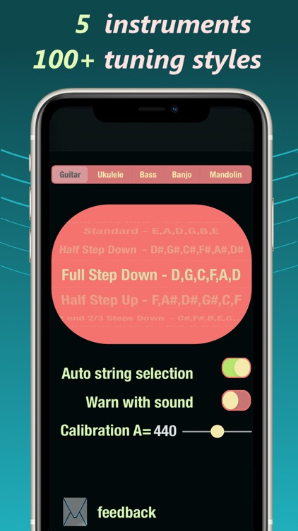 Smiley Tuner - Accurate tuning screenshot-3