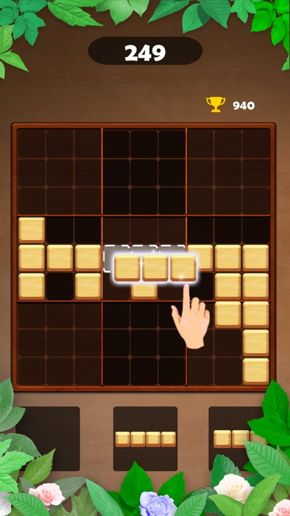 Wood Block Puzzle - Brain Game screenshot-9