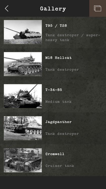 Guess the World War II Tank screenshot-4