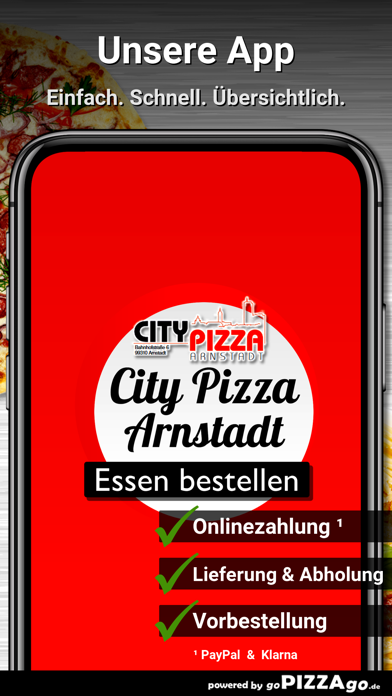 City Pizza Arnstadt screenshot 1