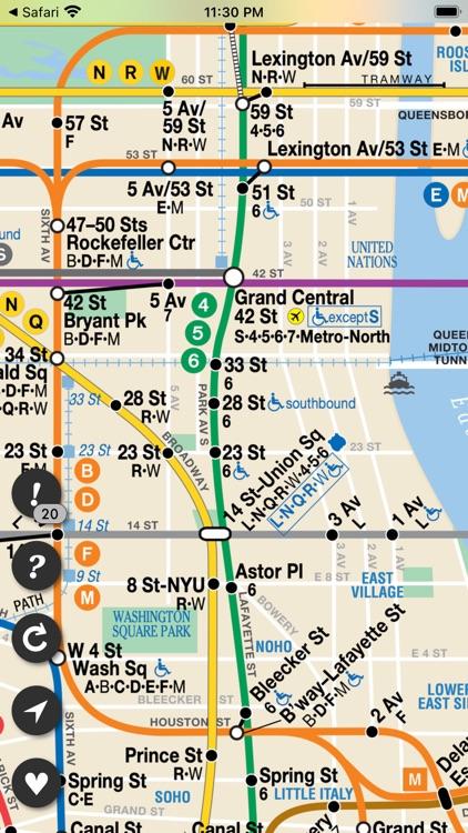 Underway: NYC Subway Transit screenshot-6