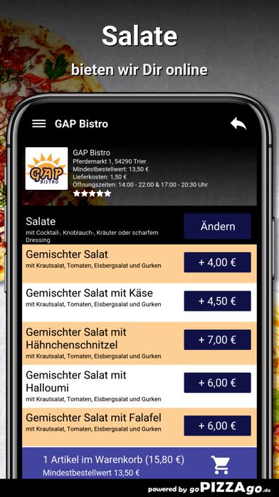 GAP Bistro Trier screenshot 5