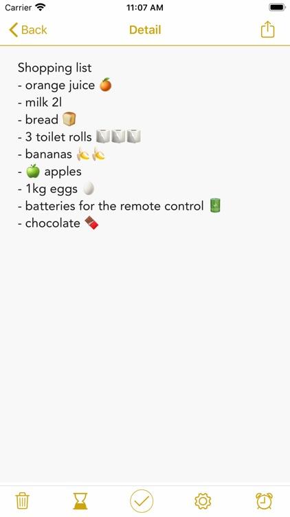 Notes & Tasks