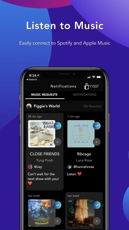 Geojam: Social Media for Music screenshot-5