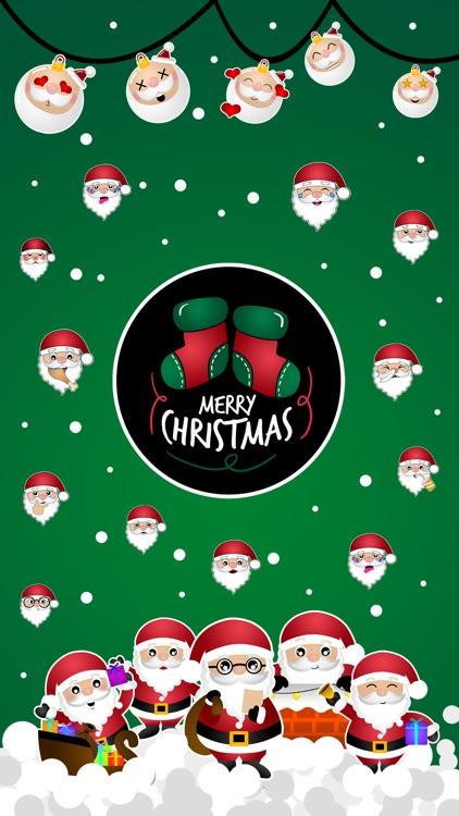 Hi Santa Claus Stickers