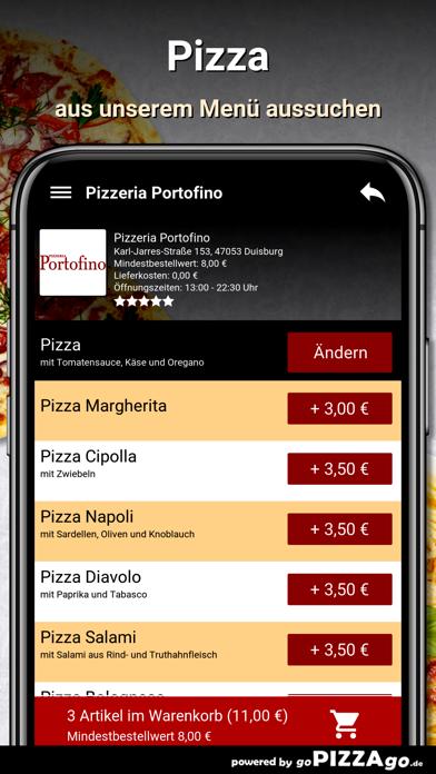 Pizzeria Portofino Duisburg screenshot 5