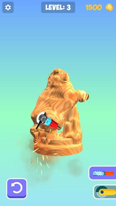 Idle Wood Carving 3D screenshot 5