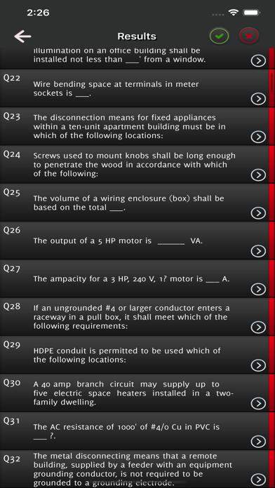 Journeyman Electrician Exam - screenshot 5