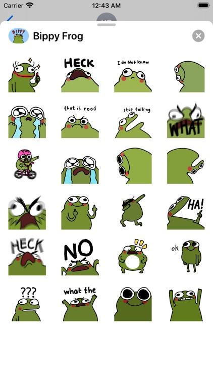 Bippy Frog