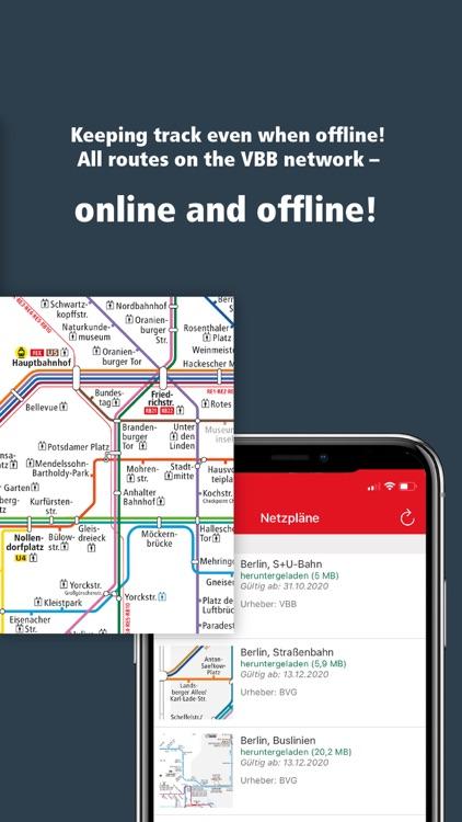 VBB Bus & Bahn: Route planner screenshot-7