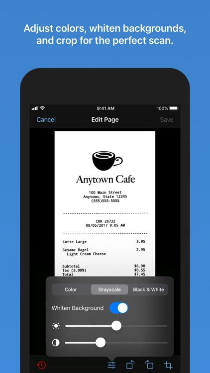 Paperlogix - PDF Scanner screenshot-3