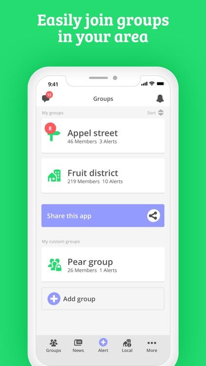 WeAlert - safer neighborhoods screenshot-4