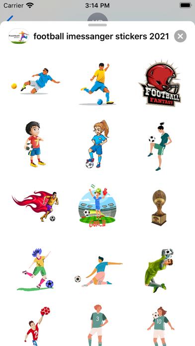 football stickers 2021紹介画像1