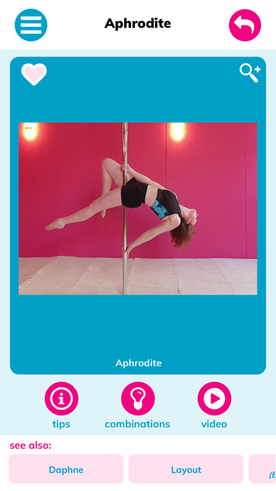 NMS Pole Fitness Moves screenshot 2