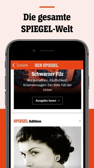 DER SPIEGEL - Nachrichten Screenshot