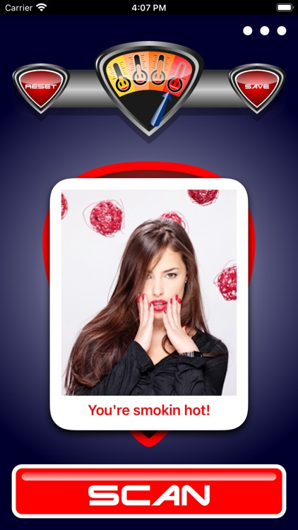 Hot O Meter Photo Scanner Game screenshot-0