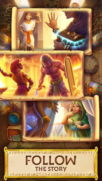 Jewels of Egypt: Match 3 Games screenshot-3