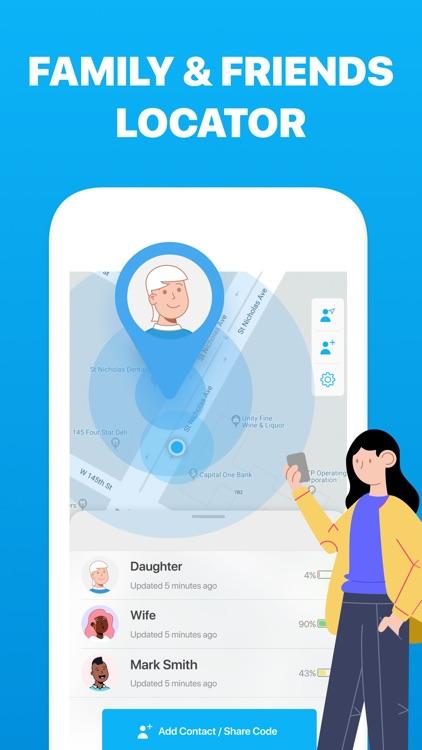 Find My Friends・Phone Locator