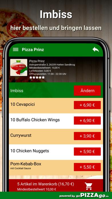 Pizza Prinz Hatten Sandkrug screenshot 6