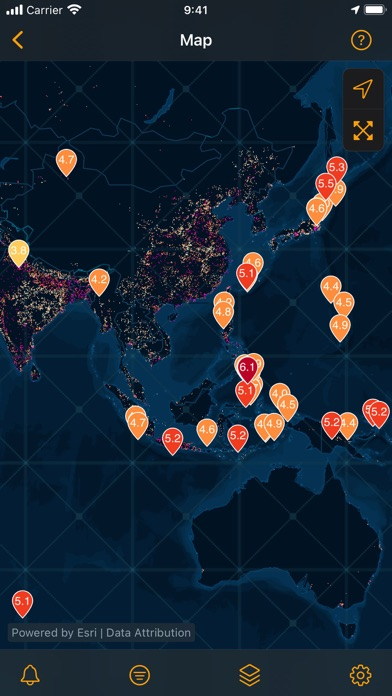messages.download QuakeFeed Earthquake Alerts software